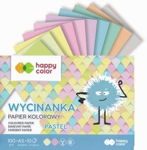 Papier kolorowy wycinanka A5 PASTEL Happy Color (41495)