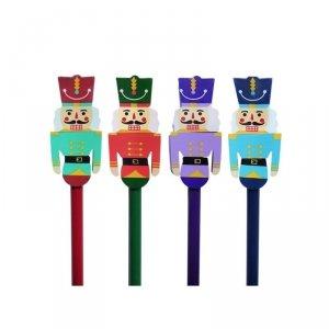 4x Ołówek świąteczny z dużą gumką DZIADEK DO ORZECHÓW INCOOD MIX (0088-0043SET4CZ)