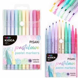Pisaki pastelowe 10 kolorów KIDEA (PIP10KA)