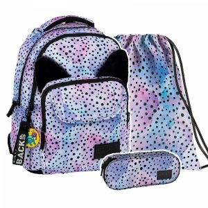 ZESTAW 3 el. Plecak szkolny młodzieżowy BackUP OCELOT (PLB2L12SET3CZ)