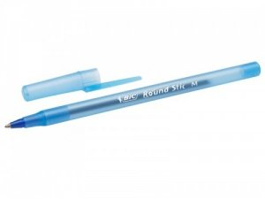 Długopis BiC Round Stick wkład niebieski (56378)