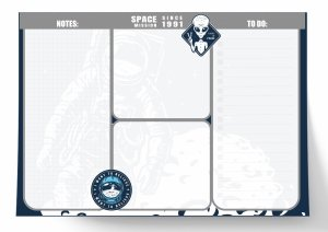 Planer na biurko kosmici, UFO Paso (PPUF20-3703)