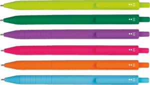 Długopis SWIFT COLOR wkład jasnozielony PATIO (66303PTR)