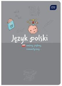 Zeszyt tematyczny przedmiotowy A5 60 kartek w linię JĘZYK POLSKI (30126)
