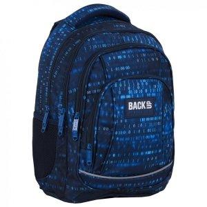 Plecak szkolny młodzieżowy BackUP 26 L liczby, NUMBERS (PLB4A55)