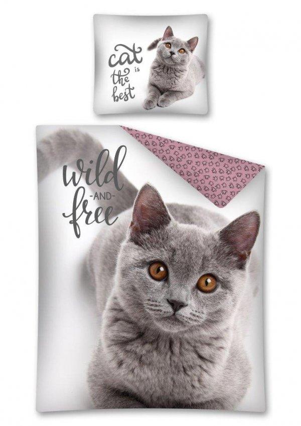 Komplet pościeli pościel CAT Kotek 160 x 200 cm (2728)