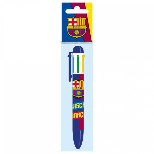 Długopis 6 kolorów FC BARCELONA (D6KBC)