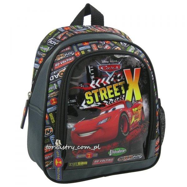 Plecaczek przedszkolny, wycieczkowy Cars Auta, licencja Disney (PL10CA36)