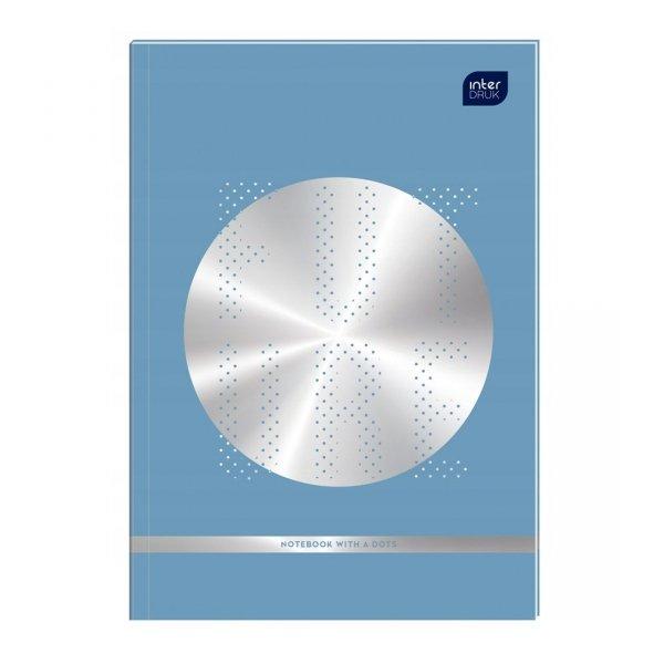 Zeszyt A5 64 kartki w kropki MIX chłopięcy BULLET JOURNAL (58908)