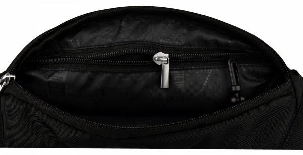 Saszetka na pas torba nerka czarna, BLACK WB2 (19106)