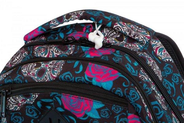 Plecak CoolPack BREAK w czaszki i róże, SKULLS & ROSES (B24049)