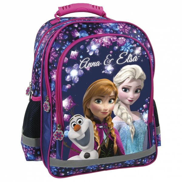 Plecak szkolny FROZEN KRAINA LODU (PL15BKL22) ZESTAW 4 el.