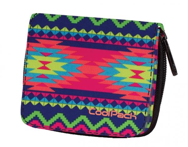 Portfel młodzieżowy CoolPack HAZEL w kolorowe zygzaki, BOHO ELECTRA 789 (74339)