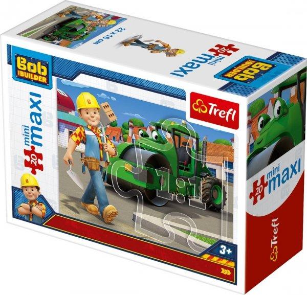 TREFL Puzzle miniMaxi 20 el. Bob Budowniczy (21009)