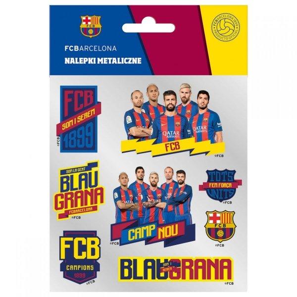 Nalepki metaliczne FC BARCELONA (NMEBC)