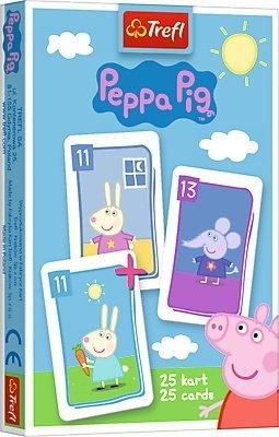 TREFL Gra karty PIOTRUŚ, Świnka Peppa (08485)