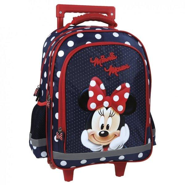 Plecak szkolny na kółkach MYSZKA MINNIE (PL15KMM19)