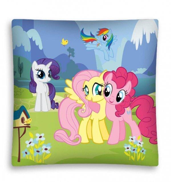 Poszewka na poduszkę 3D My Little Pony Kucyki 40 x 40 cm (MLP11)