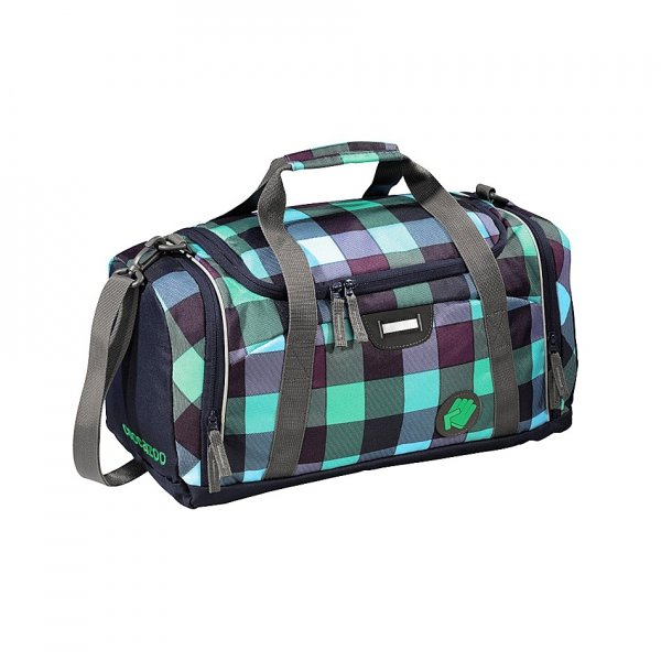 Coocazoo torba sportowa SporterPorter Green Purple District (124798)