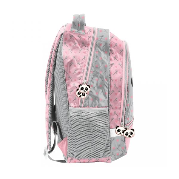 Plecak szkolny PANDA z uszami Paso (PP20PA-260)