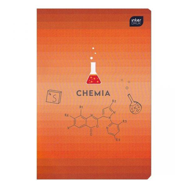Zeszyt tematyczny przedmiotowy A5 60 kartek w kratkę CHEMIA (30157)