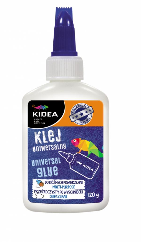 Klej szkolny w płynie 120 g KIDEA (KP120KAD)