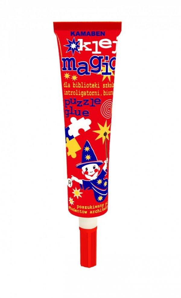 Klej szkolny z aplikatorem MAGIC 45g w tubie KAMABEN (00018)
