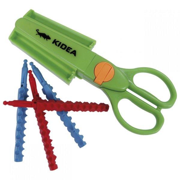 Zestaw dwóch nożyczek ozdobnych KIDEA (NOD9KA)