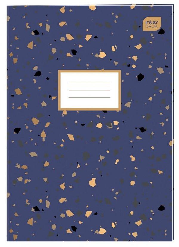 Zeszyt A4 96 kartek w kratkę MIX dziewczęcy (75007)