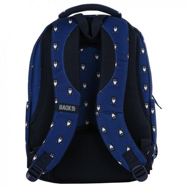 Plecak szkolny młodzieżowy BackUP SOWY (PLB2L13)