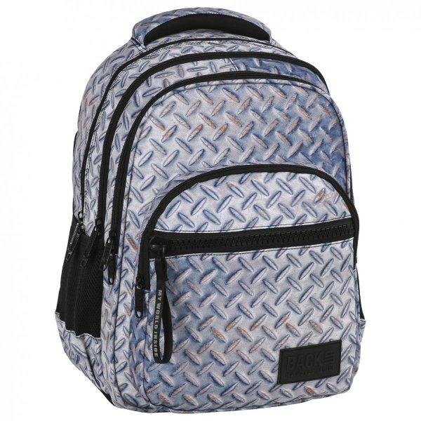 Plecak szkolny młodzieżowy BackUP BLACHA (PLB2M42)