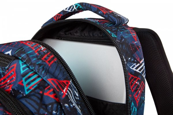 Plecak CoolPack LED JOY L w kolorowe trójkąty TRIANGLES (97031)