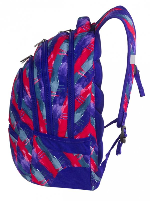 Plecak CoolPack COLLEGE artystyczne pasy Vibrant Lines (81327CP)