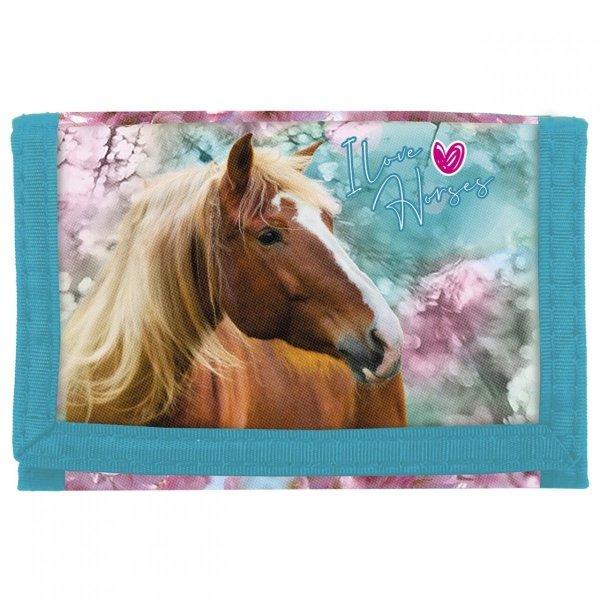 ZESTAW 6 el. Tornister Szkolny Ergonomiczny I LOVE HORSES Konie (TECKO19SET6CZ)