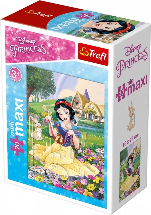 TREFL Puzzle miniMaxi 20 el. Księżniczki Królewna Śnieżka (21019)