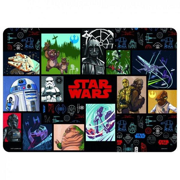 Podkładka laminowana STAR WARS Gwiezdne wojny (PLASW08)