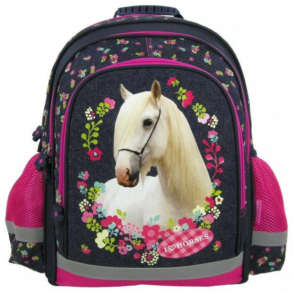 Plecak szkolny I Love Horses KONIE (PL15KO11)