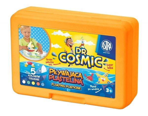 DR COSMIC Pływająca plastelina 5 kolorów, ASTRA (07837)