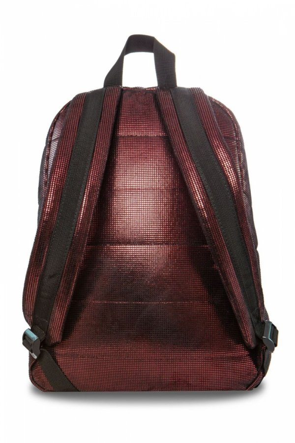 Plecak CoolPack miejski RUBY bordowy połysk BURGUNDY GLAM (22851)