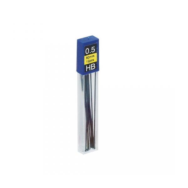 Grafity do ołówków automatycznych 0.5 mm HB, GRAND (160-1125)