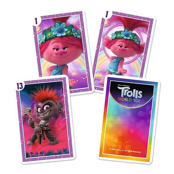 TREFL Gra karty PIOTRUŚ, Trolle (08481)