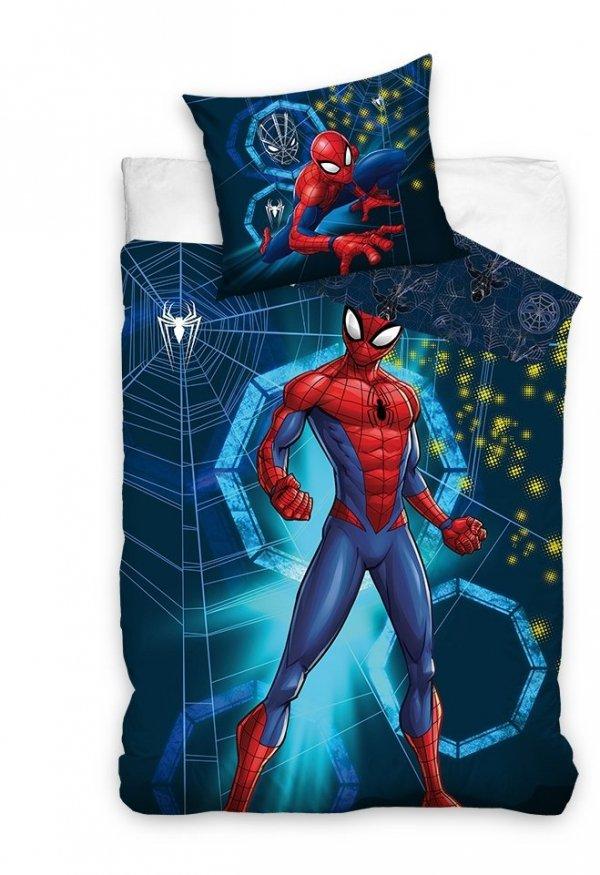 Pościel bawełniana Spiderman 140 x 200 cm komplet pościeli (SM205003)