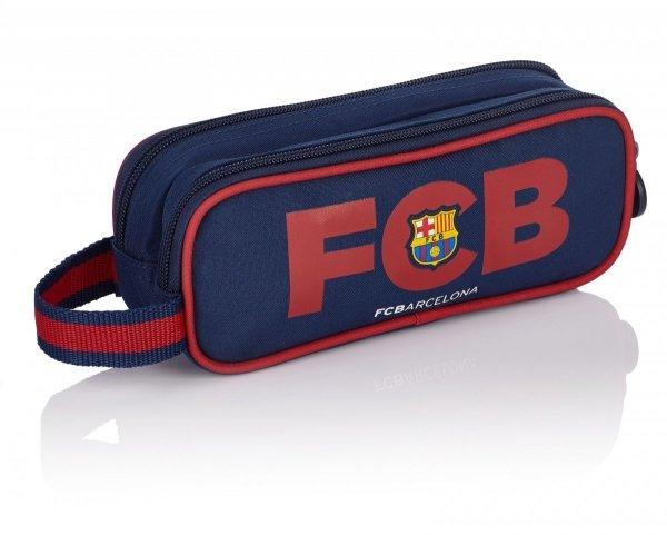 Piórnik dwukomorowy saszetka FC BARCELONA FC-138 (505017002)