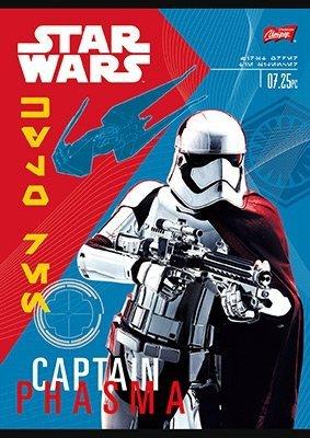 Zeszyt A5 w kratkę 16 kartek STAR WARS mix (22245)