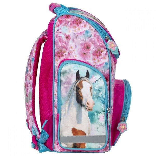 ZESTAW 5 el. Tornister szkolny ergonomiczny I LOVE HORSES Konie (TEMBKO19SET5CZ)