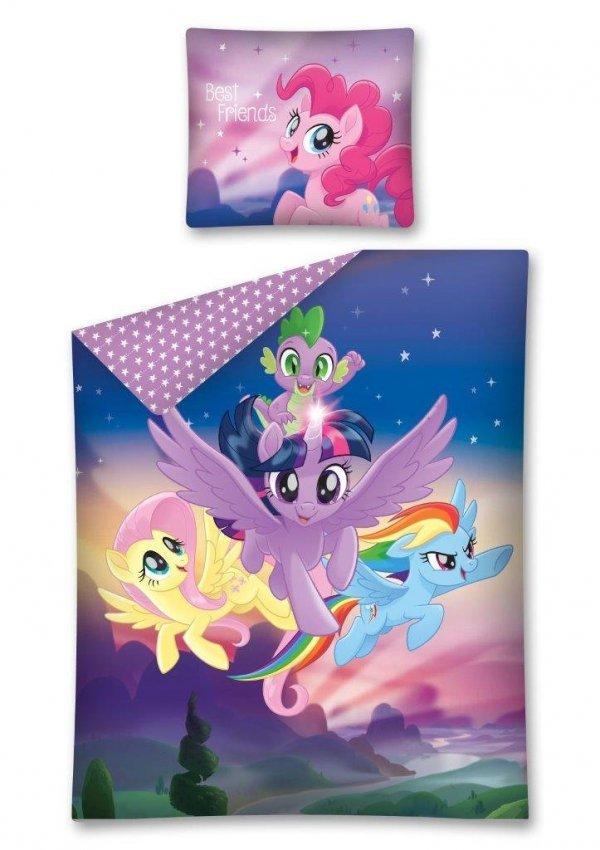Komplet pościeli pościel My Little Pony Kucyki 160 x 200 cm (MLP33DC)
