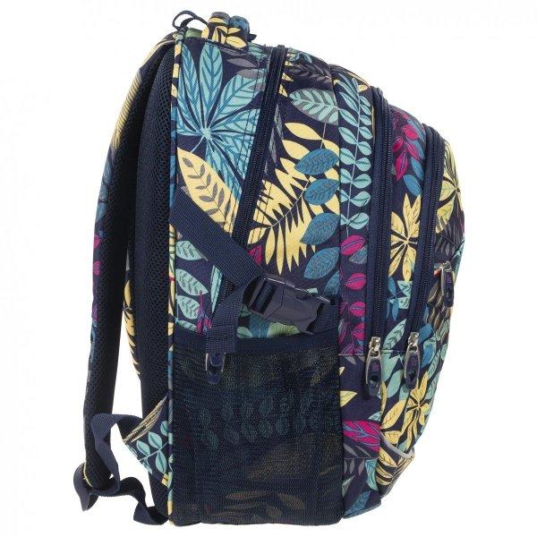 Plecak szkolny młodzieżowy Back UP jesienne liście, AUTUMN VIBES (PLB1G42)