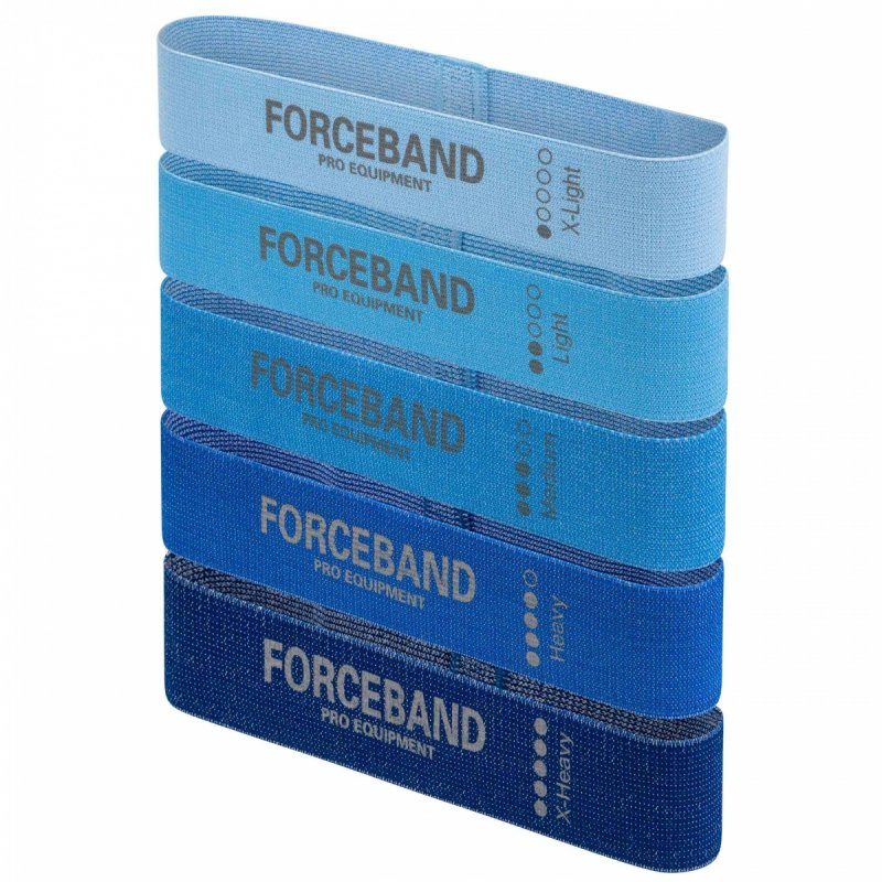 Zestaw 5 taśm materiałowych - Mini Band PINK + E-BOOK Gratis!