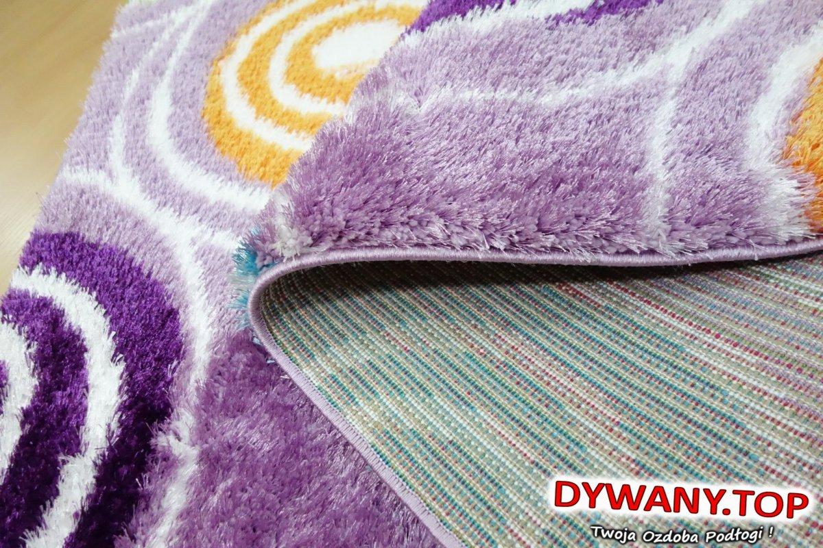 Dywan Seher 3d Lilac Fioletowy Dywanytop