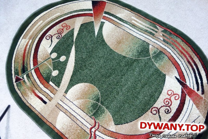 DIAMOND Y.YESIL zielony owal
